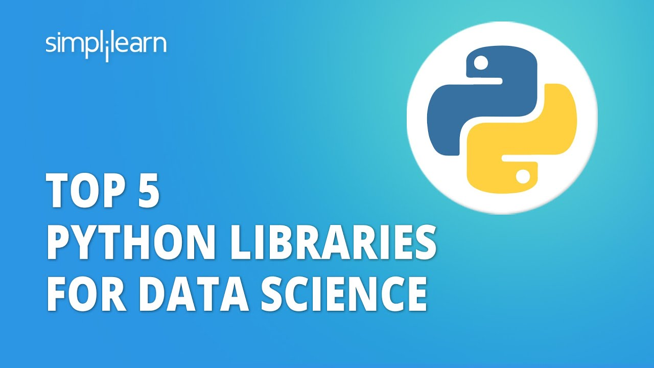 Top 5 Python Libraries For Data Science   Python Libraries For Data Science
