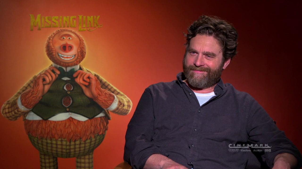 Cinemark Interviews Zach Galifianakis of Missing Link