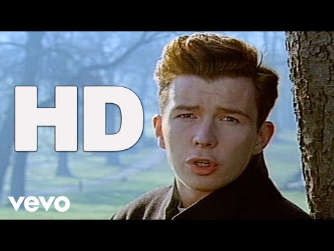 Rick Astley - Hold Me In Your Arms (Official HD Video)