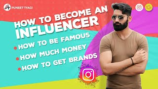 How To Become A Fashion Blogger or Social Media Influencer On Instagram And Start Earning   | Hindi