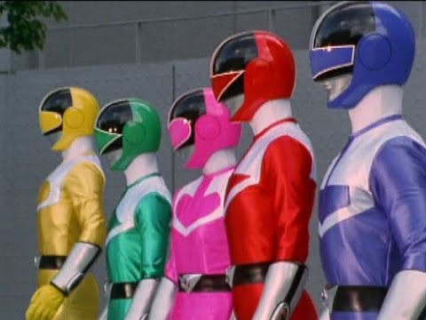 Power Rangers Time Force  First Morph and Fight  Episode 1