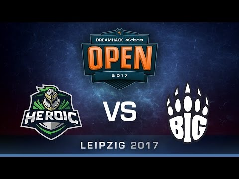 Heroic vs BIG [Map 1 BO3] DreamHack ASTRO Open Leipzig 2017