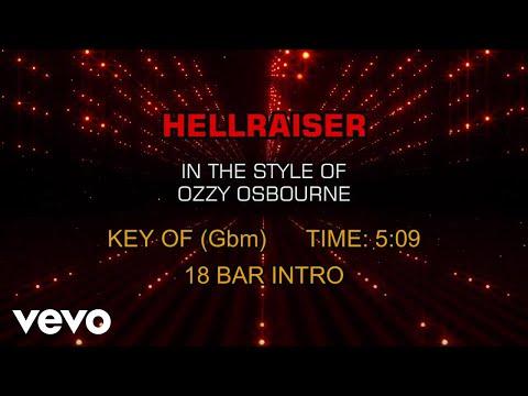 Ozzy Osbourne  Hellraiser Karaoke