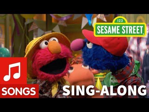 Sesame Street: Old MacDonald Had a Farm with Lyrics | Elmo's Sing Along