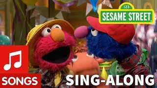 Sesame Street: Old MacDonald Had a Farm with Lyrics | Elmo's Sing Along
