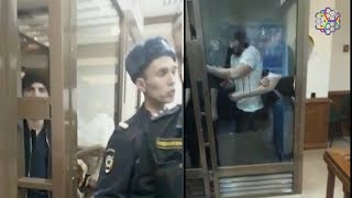В Мосгорсуде вскрыли вены в знак протеста