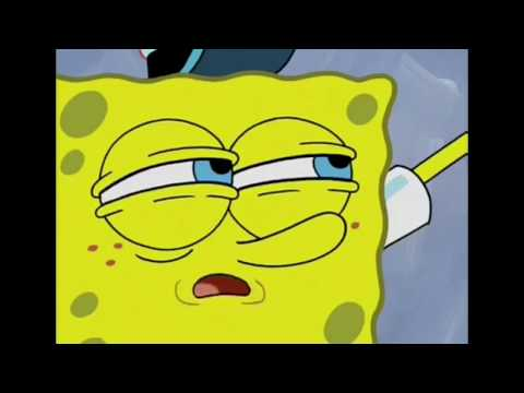 SpongeBob waits for it for 10 minutes