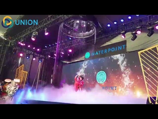 Màn nước tròn sự kiện ra mắt sản phẩm tại Long An| UNION JSCO