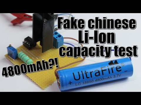 Li-Ion Capacity Test || DIY constant current load
