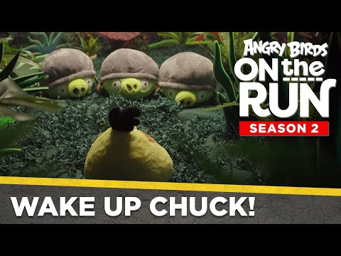 Angry Birds On The Run | Wake Up Chuck! - Ep3 S2