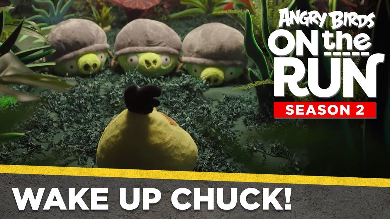 Angry Birds On The Run | Wake Up Chuck! - Ep3 S2