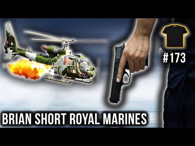 Executed In The Falklands | Brian Short Royal Marines | Bought The T-Shirt Podcast #173
