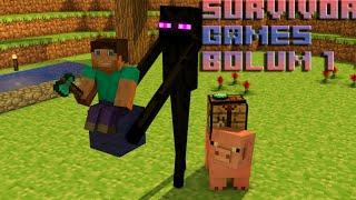 Minecraft Survival Bölüm 1 Küçük Ev Seymen