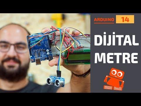 Arduino Dijital Metre Yapımı (16x2 LCD Ekran Kullanımı)