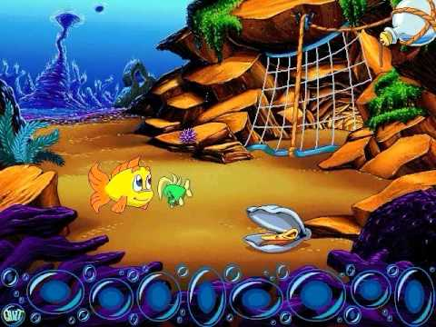 Freddi fish 3 the case of the stolen conch shell demo for Freddi fish 5
