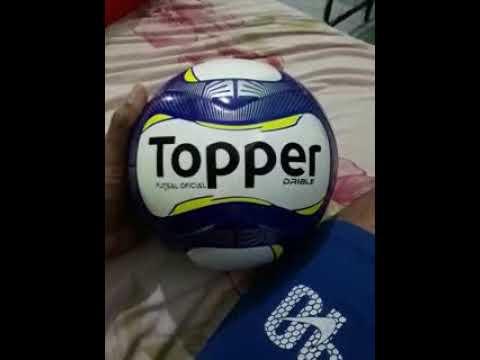 b8e74fd825 Comprei uma bola topper drible na netshoes - análise. - YouTube