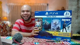 BUYING A PLAYSTATION 4 IN 2020 -  IS IT WORTH IT? (MEGAPACK BUNDLE UNBOXING)