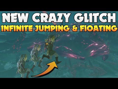 Crazy Glitch Allows you to Moon Jump In Breath of The Wild