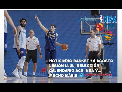 Calendario Eurobasket.Noticiario Baloncesto 14 Agosto Previa Vs Venezuela