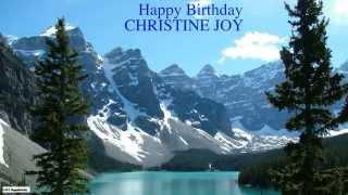 ChristineJoy   Nature & Naturaleza - Happy Birthday