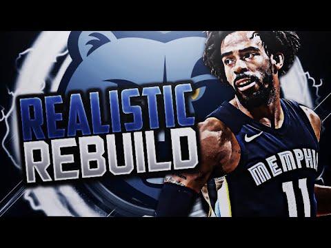 TRADING MARC GASOL!! GRIZZLIES REALISTIC REBUILD!! NBA 2K18