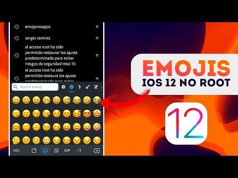 EMOJIS DE IOS 12.1 PARA CUALQUIER ANDROID SIN ROOT! | COMO INSTALAR LOS EMOJIS IOS 13🔥