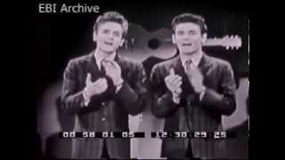 Everly Brothers International Archive : Ed Sullivan Show   March 2 1958