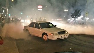 LAPD DOING DONUTS | LOS ANGELES TAKEOVER
