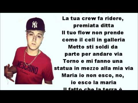 Lazza - Bisturi Freestyle (Testo)