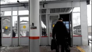 Проход через турникет без билета. Пригородный вокзал г. Челябинск(26.11.16., 2016-11-29T14:56:31.000Z)