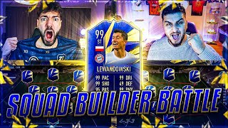 FIFA 21: TOTY LEWANDOWSKI SQUAD BUILDER BATTLE Prediction 🔥🔥 Wakez vs Seko