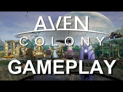 Aven Colony - GAMEPLAY HD [ Hybrid of Planetbase & Tropico & Anno 2205 & Cities Skylines ]