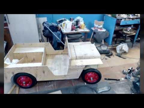 видео: Создание детского электромобиля