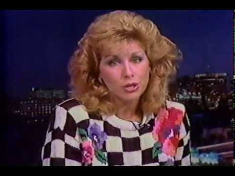 WHYY TV 12 Weather Report with Sue Serio (July 1989)