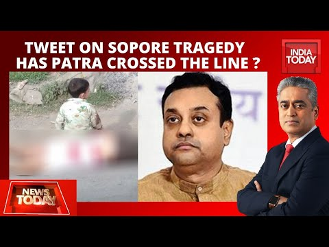 Has BJP Leader Sambit Patra Crossed The Line With Tweet On Sopore Tragedy? | News Today With Rajdeep
