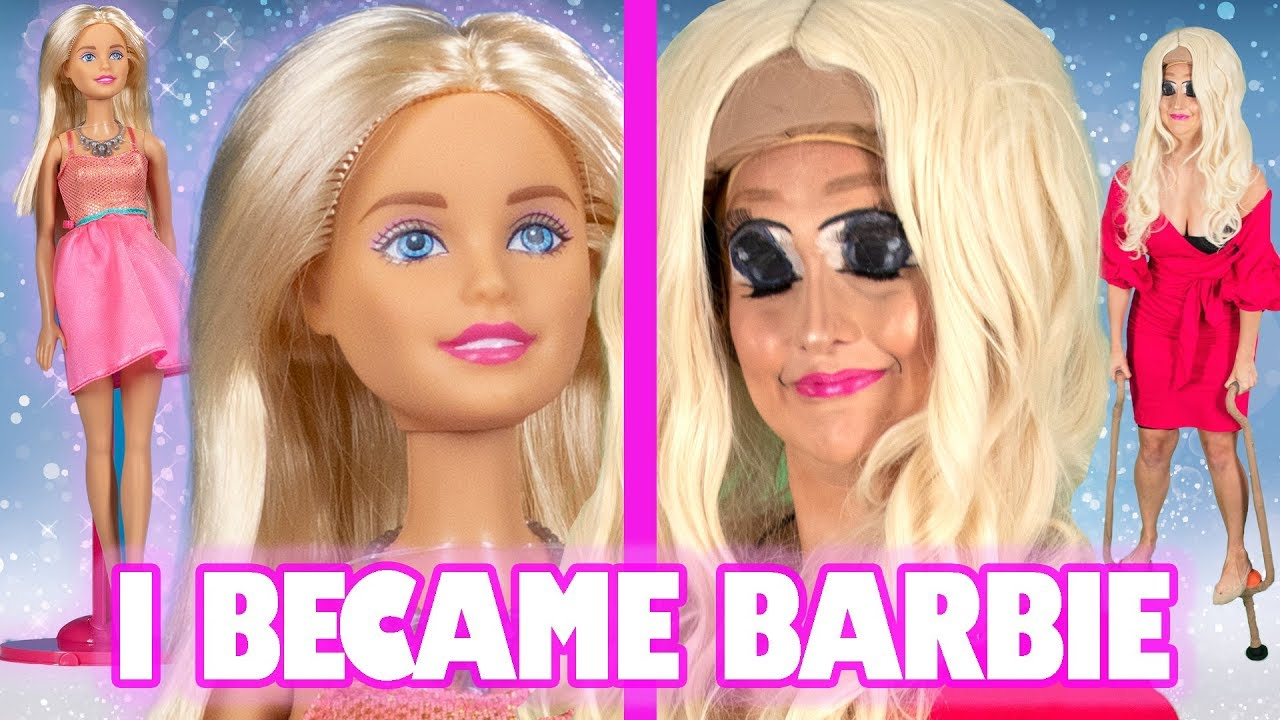 I Tried To Transform Into A Life-Size Barbie