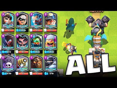 It Actually Worked!? • ALL LEGENDARY DECK  |  Clash Royale
