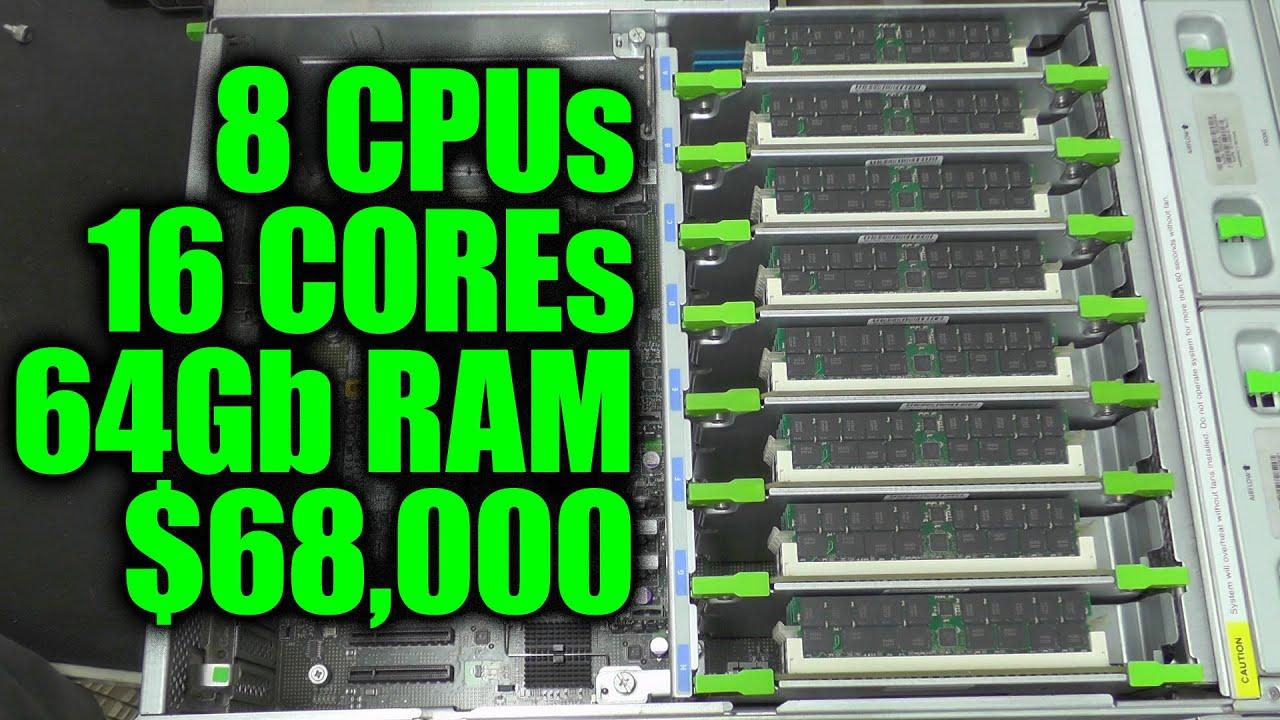 DL#093 - Sun Fire X4600 Server: A $68,000 8 CPU Monster!