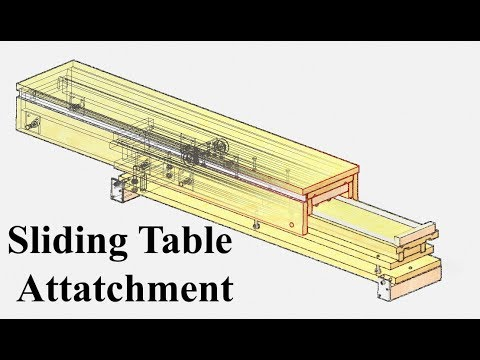 Sliding Table Attachment Introduction