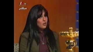 لقاء نادر للفنانة زينب العسكري