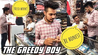 The Greedy Boy || #theprincezone #shorts