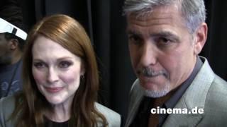 Suburbicon // Julianne Moore, George Clooney // Interview // CINEMA-Redaktion