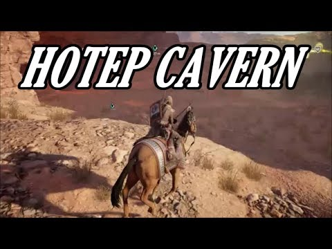 Assassin's Creed: Origins - Hotep Cavern (Missable Location) With Clue (Layla's Cave)