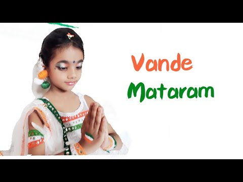 Vande Mataram | Dance cover | Choreography | Little girl patriotic dance performance in tricolour
