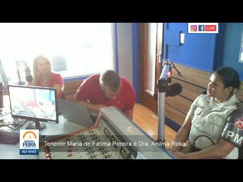 Tenente Maria de Fátima e Dra. Anilma Rosa fala sobre Projeto Oportunizar vencedor de prêmio do CNJ