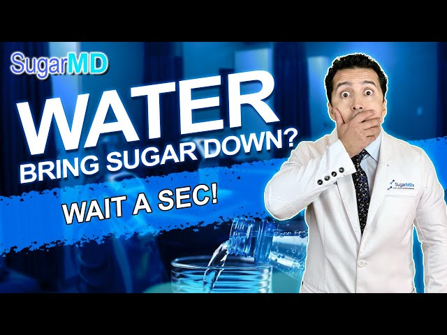 Water Lowers Blood Sugar Without Medicine? The Truth! SugarMD