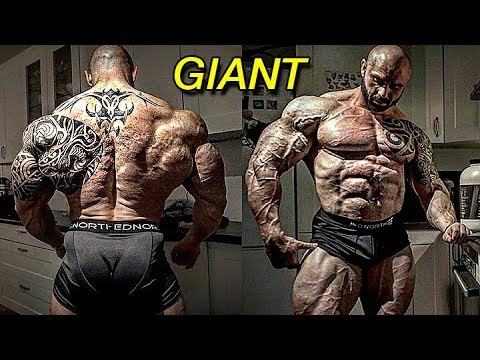 Real Life Giant Ole Kristian Vaaga | Huge Mass Monster From Norway | Bodybuilding Motivation 2018
