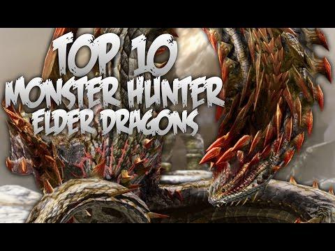 Top 10 Monster Hunter Elder Dragons