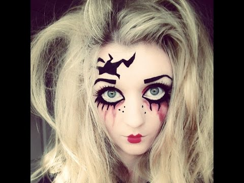 halloween makeup tutorial creepy doll