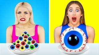 Comida grande vs Desafío de comida pequeña por Multi DO Challenge!